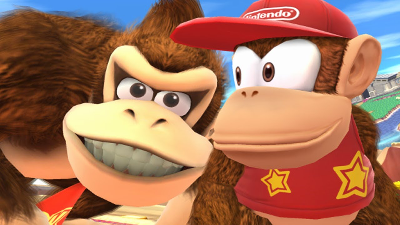 Super Smash Bros 4 Characters: Diddy Kong (WII U / 3DS ...