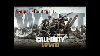 Call of Duty  WWII sniper montage 1