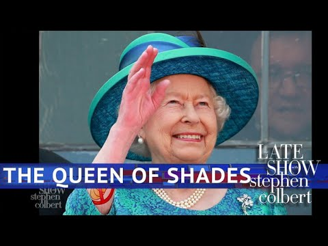Late Show vs. How The Queen Threw Shade At Trump