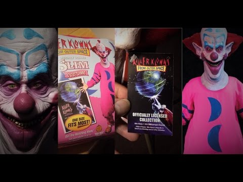 The Killer Klowns From Outer Space  Slim Mask and  Halloween Costume