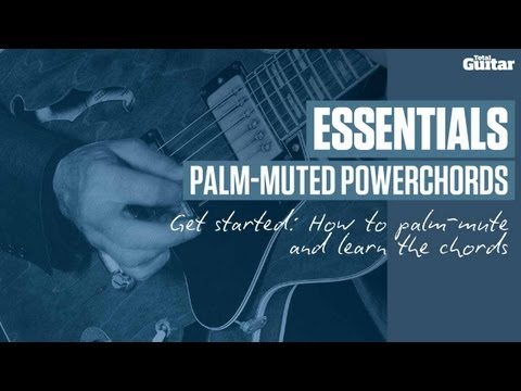 Essentials guitar lesson: Palm-muting powerchords - How to palm-mute (TG228)