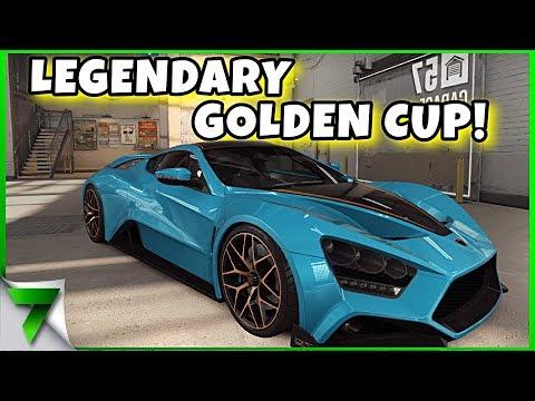 ZENVO TS1 GT LEGENDARY GOLDEN CUP!! | CSR Racing 2