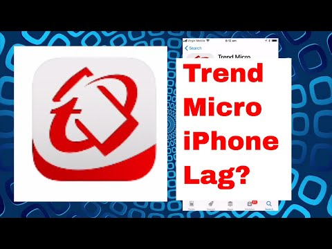 Trend Micro Mobile Security Review - VPN on iPhone 7Plus