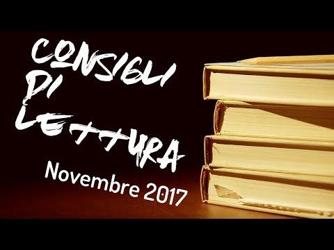 Consigli di Lettura - Novembre 2017