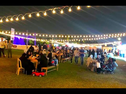 Let's take a look at the Qatar International Food Festival.