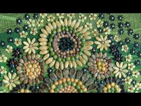 Поделки из семян дыни своими руками