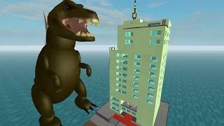 [로블록스(Roblox)] 공룡이나 괴물이 되어봐요! 집도 지어요!(Be an Alien) 간단 리뷰 & 플레이 영상