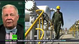 Jim Rogers on Oil prices dropping, Gold, US Dollar Safe haven