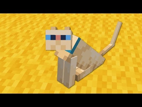 How to Tame the NEW Cats in Minecraft