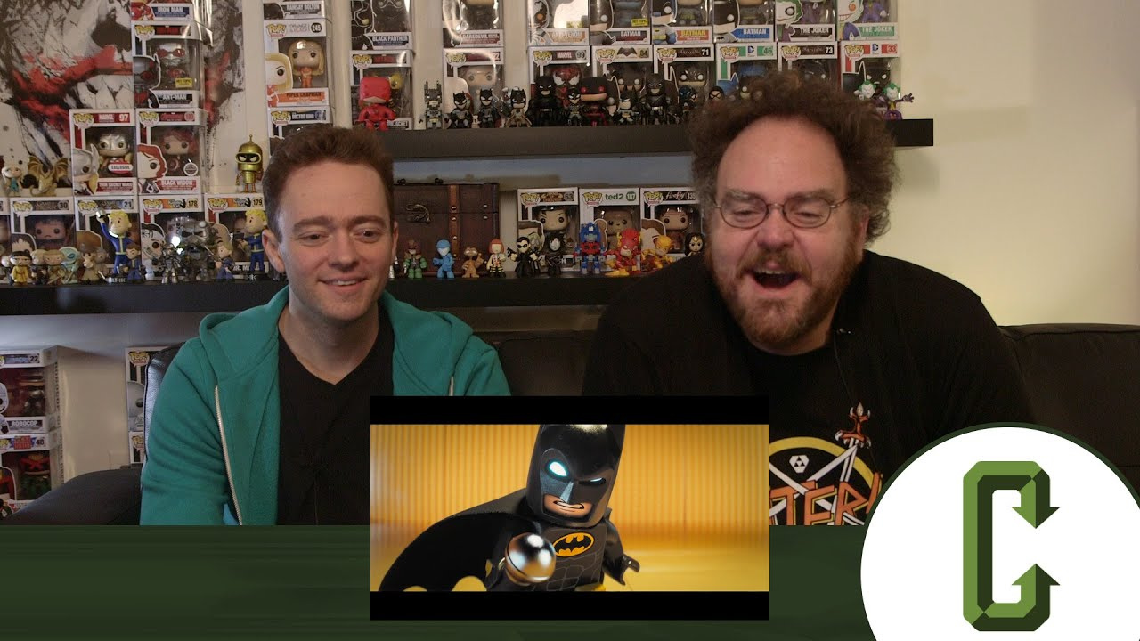 LEGO Batman Trailer Reaction and Review - YouTube