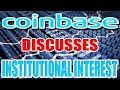 Coinbase's VP Talks Bitcoin (BTC) Institutional Interest
