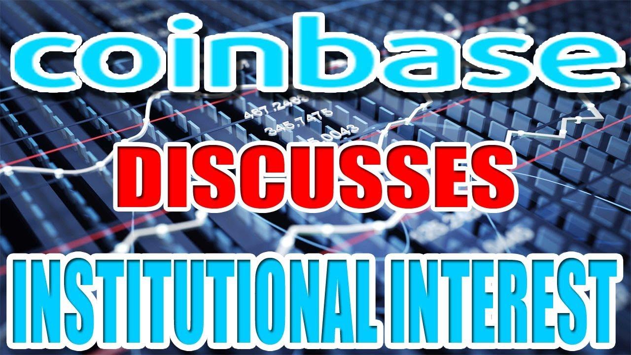 Coinbase's VP Talks Bitcoin (BTC) Institutional Interest
