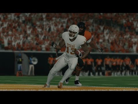 Texas Vs Oklahoma State 2018 Full Game NCAA College Football Today October 27th, 2018 | NCAA 18-19