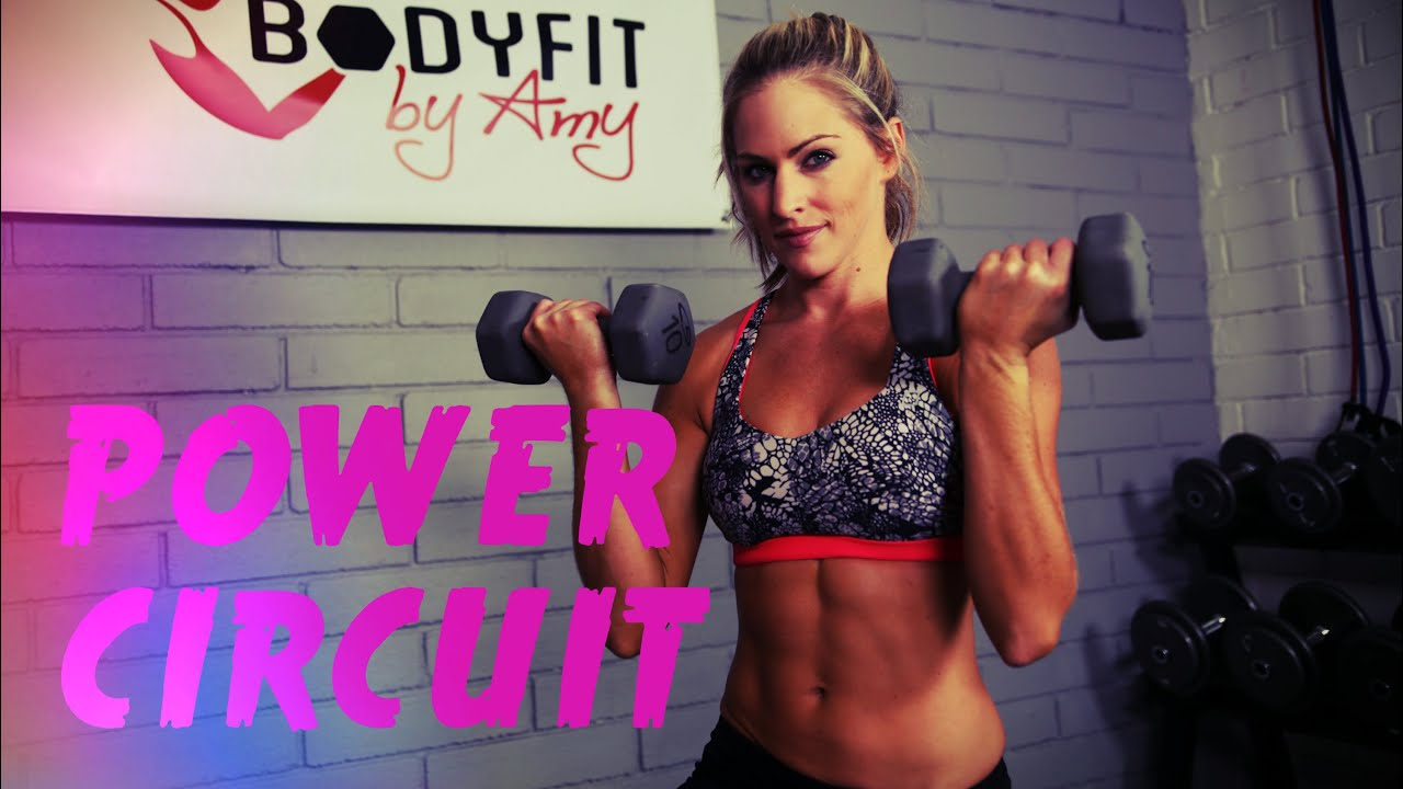 9 Minute Power Circuit Youtube Full Body Dumbell Workout Pictures Photos And Images For
