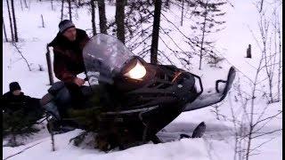 Снегоход Варяг 500.  Первый выезд.