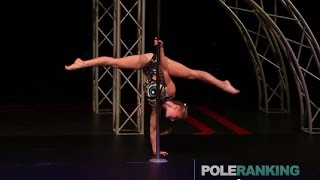 Olga Trifonova - Pole Art Cyprus 2014 (Junior winner)