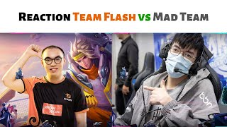 Reaction: TEAM FLASH vs MAD TEAM : tái hiện Chung Kết AWC 2019...
