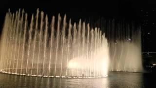 Танцующие фонтаны. Дубаи, Dancing Fountains. Dubai, 4K video(, 2016-02-28T17:26:51.000Z)