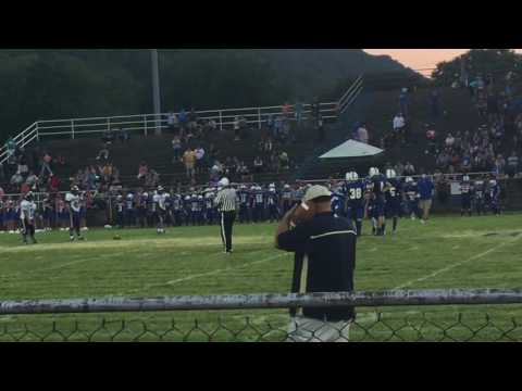 Crazy Winning Touchdown at East Bank Middle School!