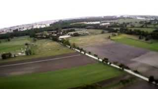 Parrot AR Drone 2.0 Sunset in Ostia Antica 100 meters over Bindi fields 20140702 201808