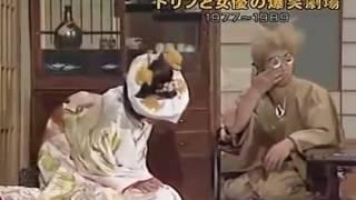 昭和のテレビ番組の一場面。欽どこ番組ドリフターズの番組を紹介。 欽ち...