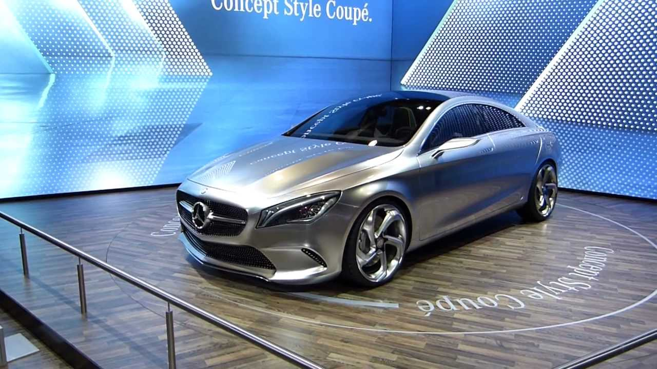 mercedes style concept coup cla youtube. Black Bedroom Furniture Sets. Home Design Ideas