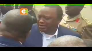 Karua, Uhuru hug as President tours Kirinyaga