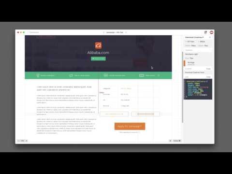 Interactive styleguide for VOLTU (UI Design)