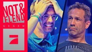 Über Bande gegen Evil Jared & René Adler | Spiel 2 | Joko & Klaas gegen ProSieben
