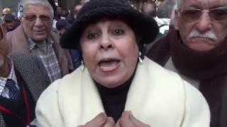 بالفيديو| أصحاب المعاشات يطالبون بإقالة وزيرة التضامن