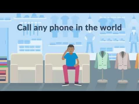 Call any phone in the world from South Africa for as little as R 0.19