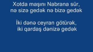 Gulaga feat Cavid - Nabrana sur (sozleri)