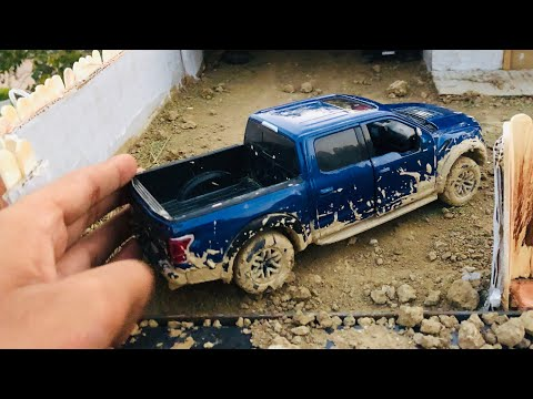 Unboxing of Mini Ford F150 Raptor Diecast Model | Off-roading | Ford Merchandise