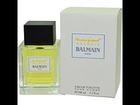 ba557970 Review Monsieur Balmain by Pierre Balmain - YouTube
