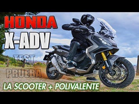 PRUEBA HONDA X-ADV !!! TEST DE LA NUEVA SCOOTER - TRAIL A FONDO !!! XADV VS THE WORLD
