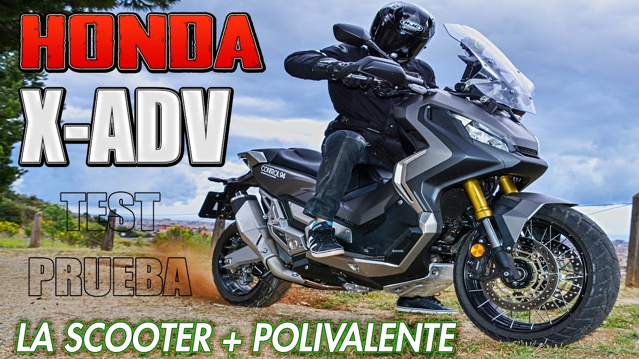 PRUEBA HONDA X-ADV !!! TEST DE LA NUEVA SCOOTER - TRAIL A FONDO !!! XADV VS THE WORLD - YouTube