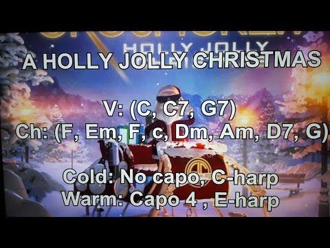 A HOLLY JOLLY CHRISTMAS - Lyrics - Chords - NO AUDIO !!!