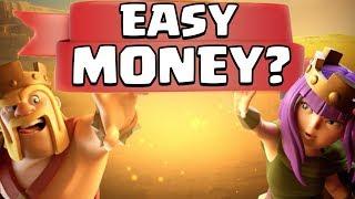 EASY MONEY in Clash of Clans? Clan War League NEW Season!