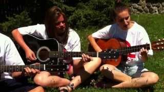 Quimby: Autó egy szerpentinen az erdélyi szentábrahámi iskola gitárzenekara előadásában.