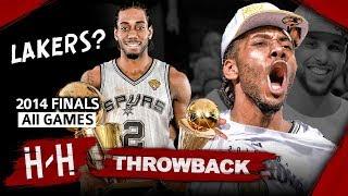 Download Throwback: Kawhi Leonard Full Series Highlights vs Miami Heat (2014 NBA Finals) -  Finals MVP! HD Mp3 and Videos