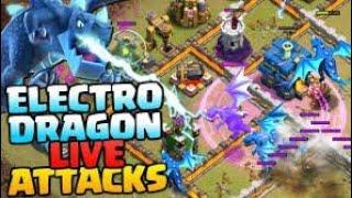 Clash of clans TAWN HALL 12 war attark Electro Dragon