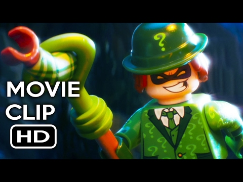 The LEGO Batman Movie Clip - Meet the Villains (2017) Will Arnett Animated Movie HD