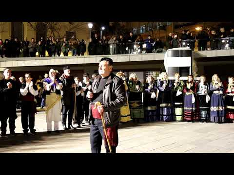 Kozan.gr: Η εμφάνιση του Φανού Αη Θανάση το βράδυ της Δευτέρας 24 Φεβρουαρίου