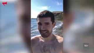 Noize MC искупался во Владивостоке