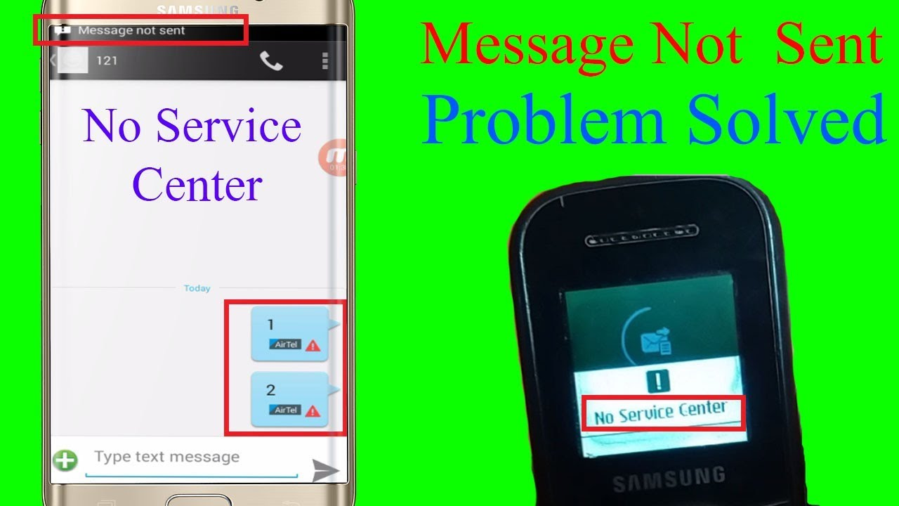 MESSAGE NOT SEND ANDROID/ KEYPAD MOBILE PROBLEM SOLVED STEP BY STEP (HINDI)