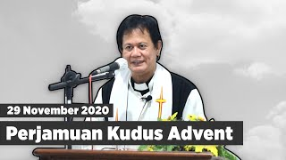 Ibadah Perjamuan Kudus Advent, 29 November 2020 // GKJW Babatan
