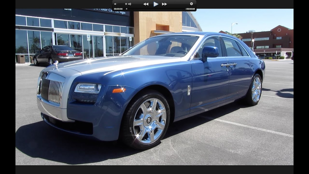2011 rolls royce ghost start up exhaust and in depth