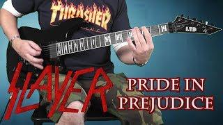 Slayer - Pride In Prejudice -  guitar cover with solo