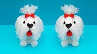How to make Puppy at home | DIY Woolen Craft