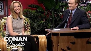 """Lisa Kudrow Attended Conan's """"Late Night"""" Audition - """"Late Night With Conan O'Brien"""""""
